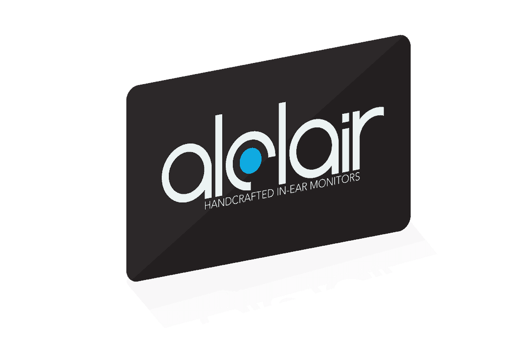 Alclair Audio Gift Certificate for in-ear monitors or iem accessories